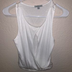 Charlotte Russe cropped tank